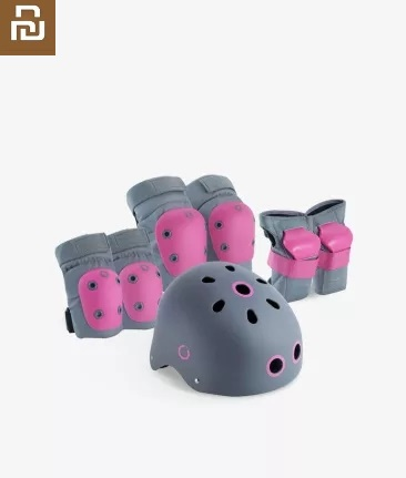 New Children's Helmet Sports Protective Gear Combination Skate Skateboard Bicycle Protector Safety Environmental Protection