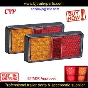 Image 1 - E4 ADR مجموعة مصابيح الشاحنة ، مصابيح Led ، إشارة الانعطاف الخلفية ، الفرامل ، قطع غيار RV الغاطسة ، الملحقات