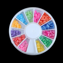 1PC DIY Colorful Bow False Coffin Nails Ballerina Fake Nails Flat Shape Nail Art Tips Natural Full Cover Manicure Fake Nail Tips(China)
