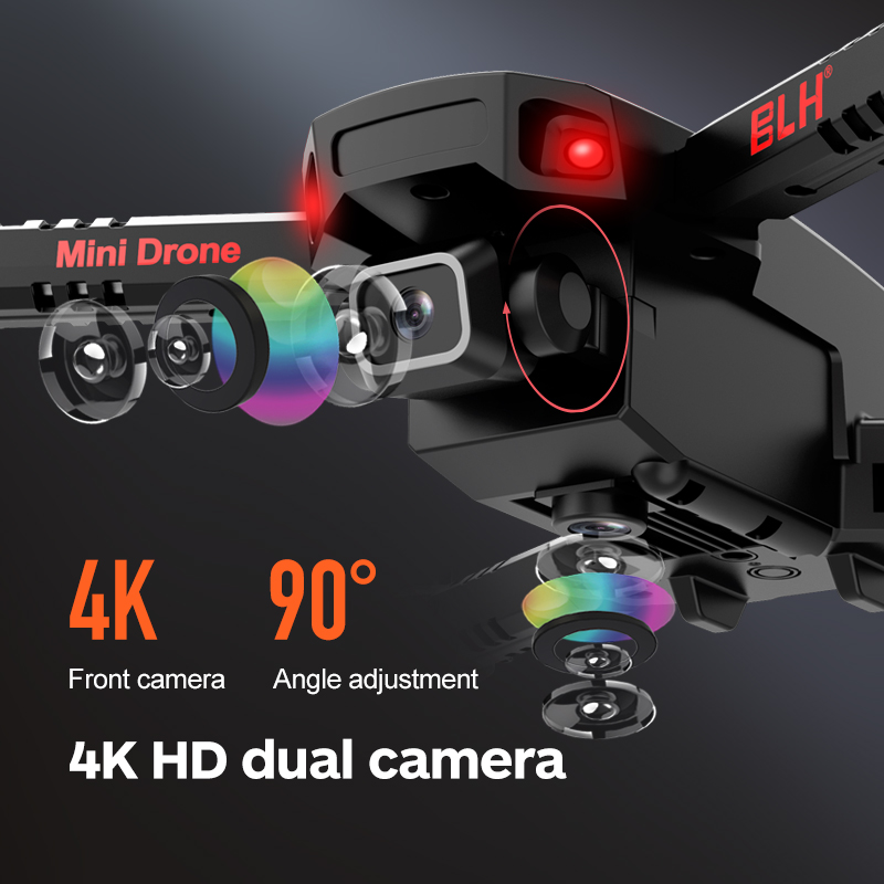 5G 360 °Drone Real-Time Transmission GPS Drone 4K Dual HD Camera Professional Aerial UAV Brushless Motor Foldable Quadcopter 4