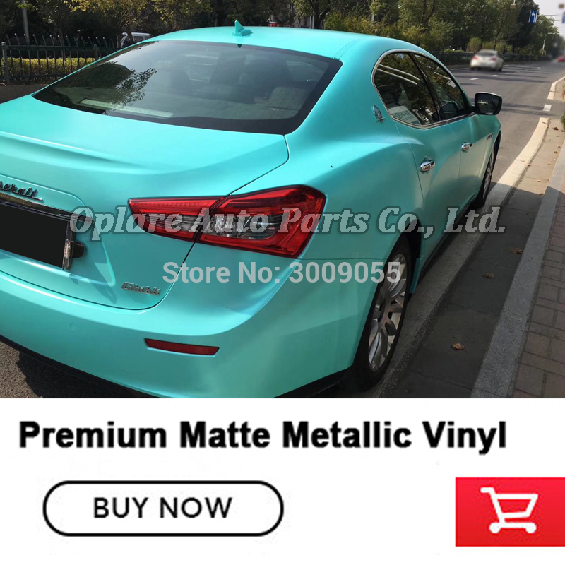 *Premium Matte Metallic Chameleon Purple Blue Sticker Decal Car Vinyl Wrap Film