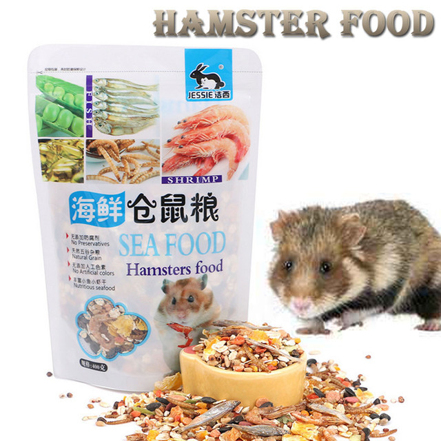 400 G Snack Seafood Hamster Grass Pet Food Delicious Balanced Balanced Snack For Hamsters Guinea Pig Chinchillas Squirrel #G 1