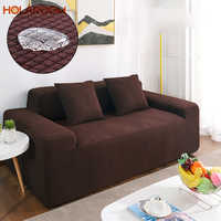 Holaroom чехлы для диванов для гостиной, одноцветные секционные чехлы для диванов, эластичные чехлы для диванов, домашний декор, чехлы для диван...