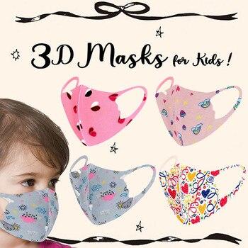 1pc Children Maak Kids Boys Girl Cotton Washable Adjustable Filter Cartoon Maks Cute Printed Breathable Maak Sailor Moon Kpop