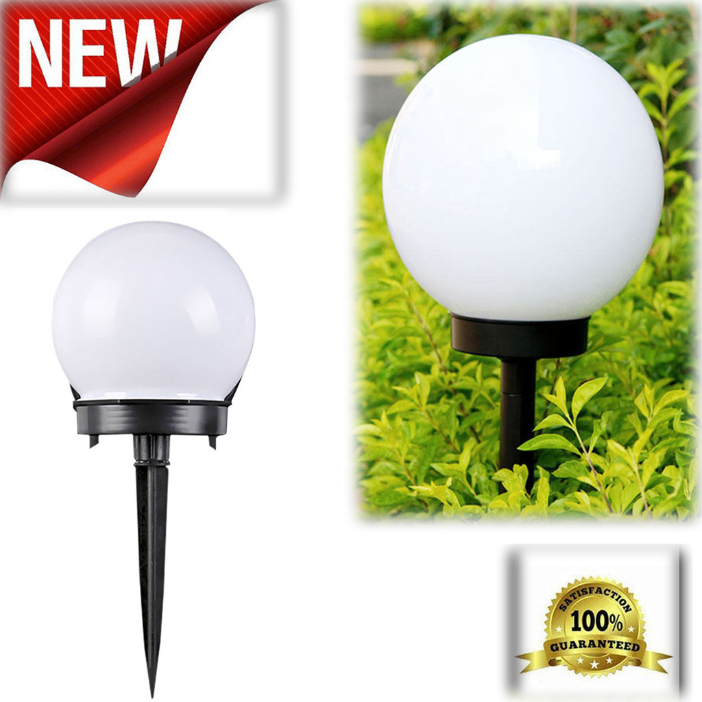 LED Solar Lawn Lamps Bulb Waterproof Ball Light Sensor Landscape Street Yard Lawn Park Holiday Party Decor Lights  Luz Solar X2