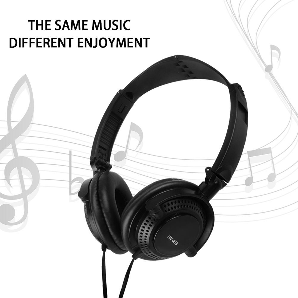 3.5mm Wired Gaming Headphones Sports Headsets Music Earphones with Microphone In-line Control for Smartphones Tablet Laptop PC