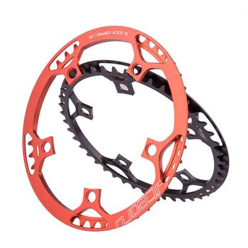 Ultralight 130 BCD BMX Chainring Folding Bicycle Aluminum Alloy BMX Chainwheel Bike Crankset Tooth 45/47/53/56/58T image