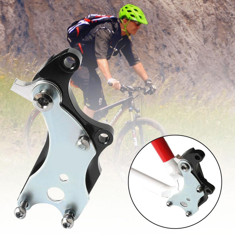 1PC MTB Mountain Road Bicycle Modification Oil Disc Brake Adapter Caliper Fixed Conversion Seat Bicycle Accessaries image
