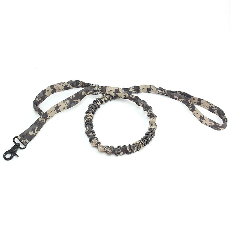 Tactical Dog Leash Outdoor Army Fans Tactical Dog Traction Belt Training Dog Traction Rope Dog Leash Tactical Dog Traction Rope