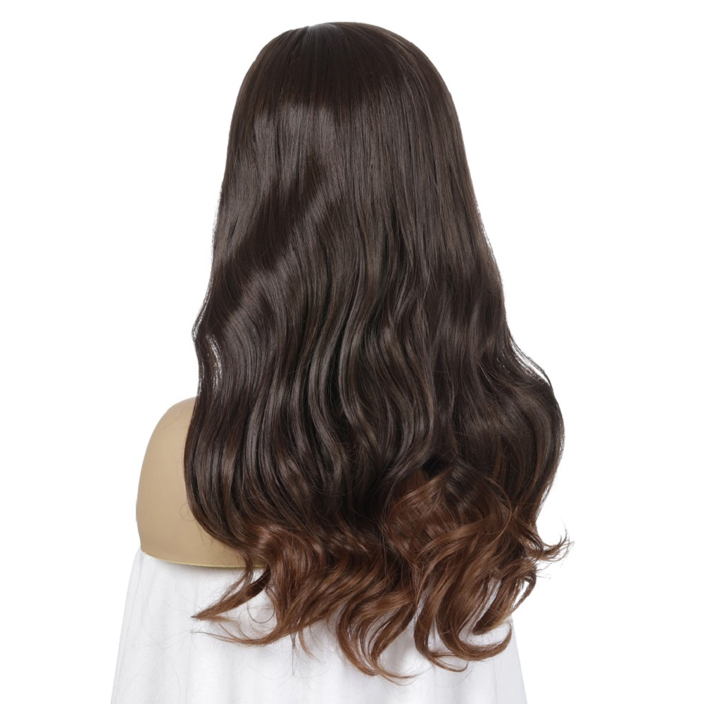 estilo do romance do cabelo falso peruca