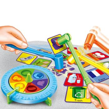 Kids Funny Fast Action Whacking Hammer Board Game Family Party Friends Children Toy Educational Toy iq car intelligence racing puzzle board game funny entertainment game play family party children educational toys