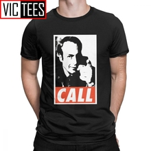 Better Call Saul Men's T Shirt Goodman Drama Legal Tv Series Crazy O Neck T-Shirt 100 Percent Cotton Oversized