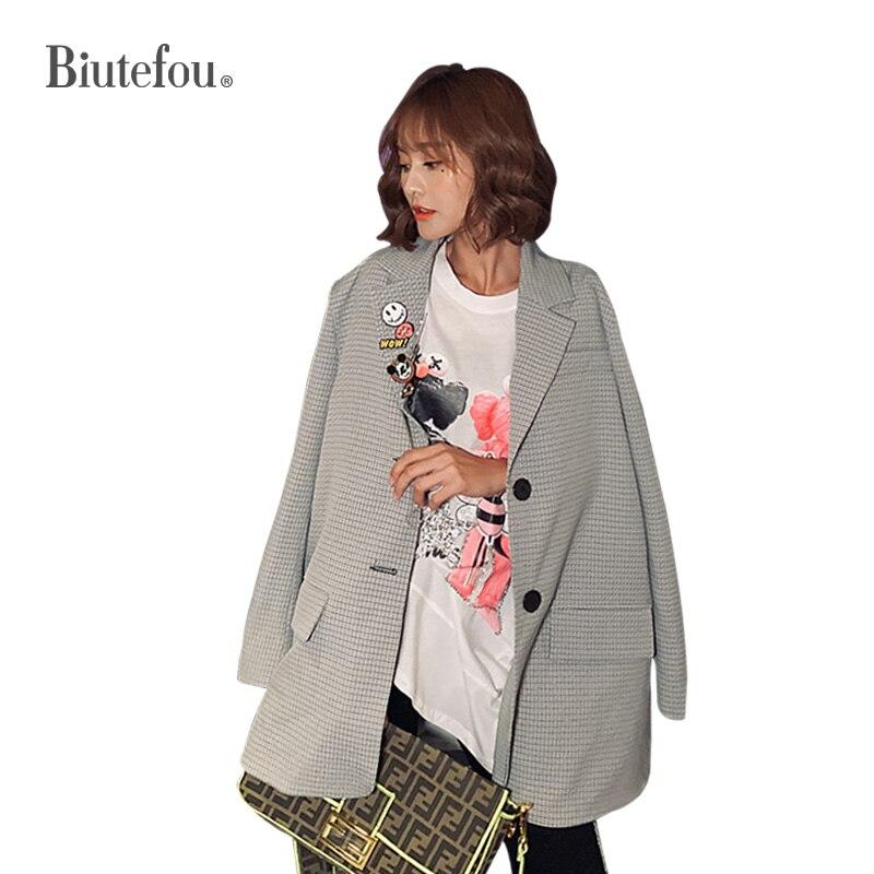 2019 Autumn Embroidery Chic Jackets Fashion Cartoon Sequins Women Blazers
