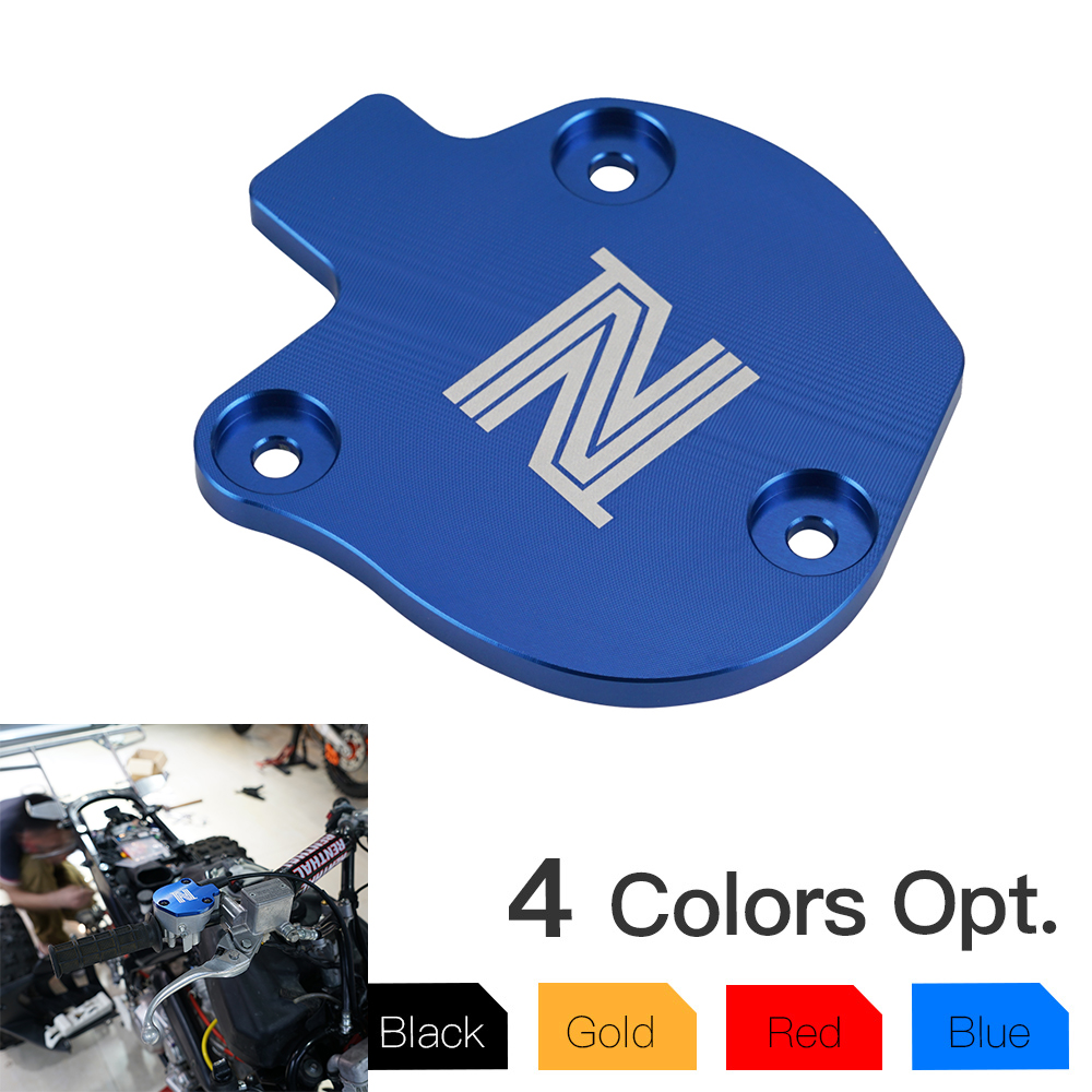 Oil Throttle Cover Guard Cap For <font><b>YAMAHA</b></font> YFZ 450 <font><b>YFZ450</b></font> X R Custom Graphics Raptor 700R YFM 700 YFM700 R ATV Aluminum Accessorie image