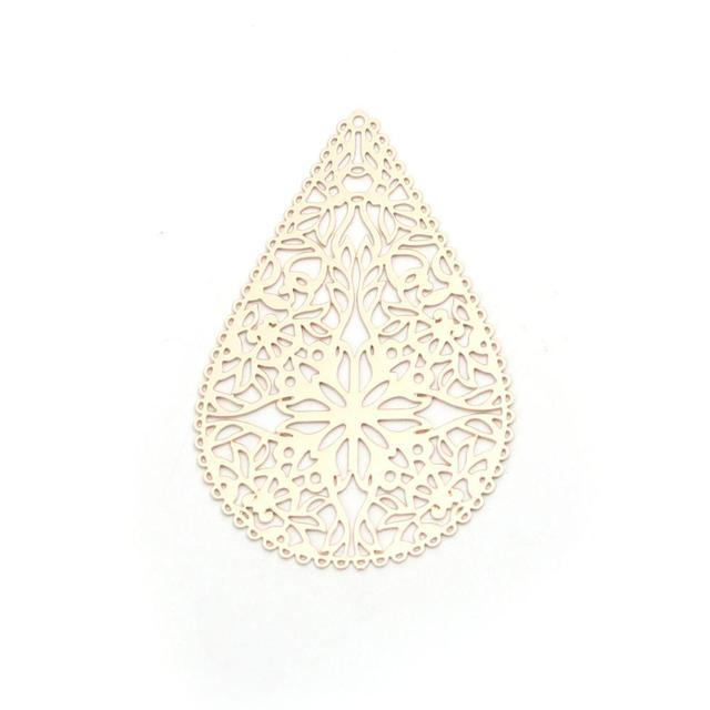 Купить doreenbeads 10 шт модные медные подвески золото висячие серьги картинки цена