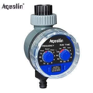 Image 1 - Bahçe su zamanlayıcı küresel vana otomatik elektronik sulama zamanlayıcı ev bahçe sulama zamanlayıcı kontrolörü sistemi #21025