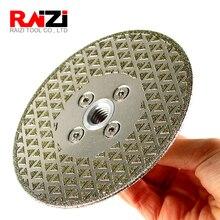 Raizi 5-дюймовый/125 мм с гальваническим резки шлифовальный диск для мрамора керамогранита двойная, Котор встали на сторону лезвие алмазной пилы