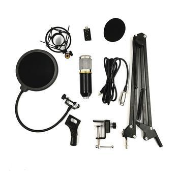 IRIN BM800 Professional Condenser Audio 3.5mm Wired Studio Microphone Vocal Recording KTV Karaoke Microphone Mic for Computer