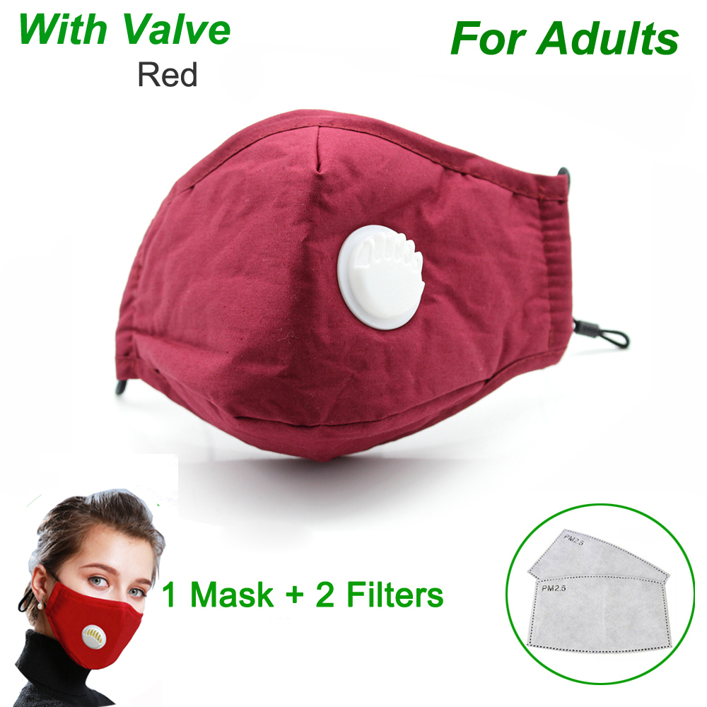 With Valve - Red