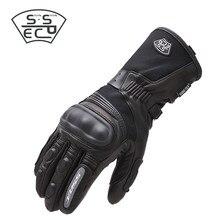 Sspec moto rcycle luvas à prova dwindproof água à prova de vento inverno quente guantes moto luvas tela de toque luvas de proteção