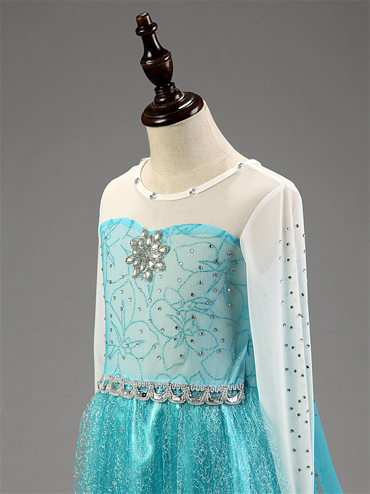 Printsessi / Elsa kostüüm lastele   5