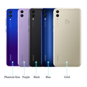 Image 2 - Global ROM HONOR 8C Mobile Phone 4GB 64GB 6.26 inch Full Screen Snapdragon 632 Octa Core 4000mah Battery 3 Cards VoLTE Face ID