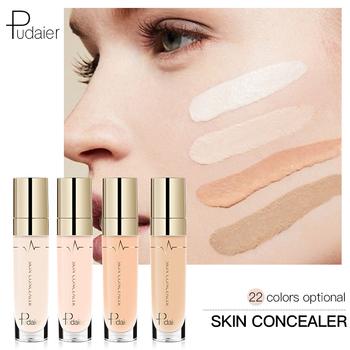 Pudaier 1PC 21 kolory korektor w płynie przewijanie piękna twarz makijaż oczu ciemne koła podkład gumka korektor fundacja baza tanie i dobre opinie Inne Wszystkich rodzajów skóry Concealer Cream Krem nawilżający Wodoodporna wodoodporny Rozjaśnić Naturalne Pożywne