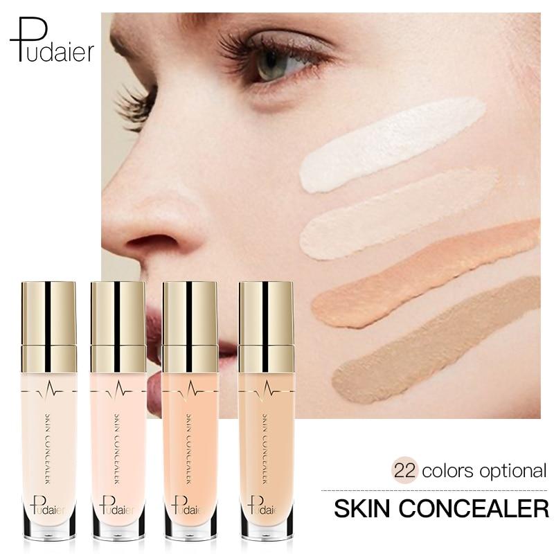 Pudaier 1PC 21Colors Concealer Liquid Rewind Beauty Face Make Up Eye Dark Circles Primer Eraser Corrector Foundation Base