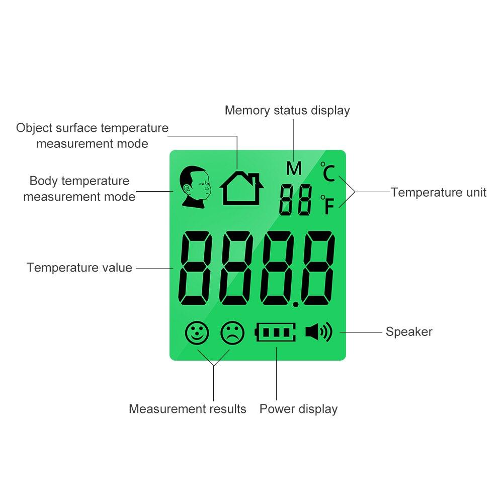 Бесконтактный цифровой инфракрасный термометр