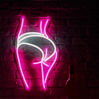 Pink Girl Neon Light