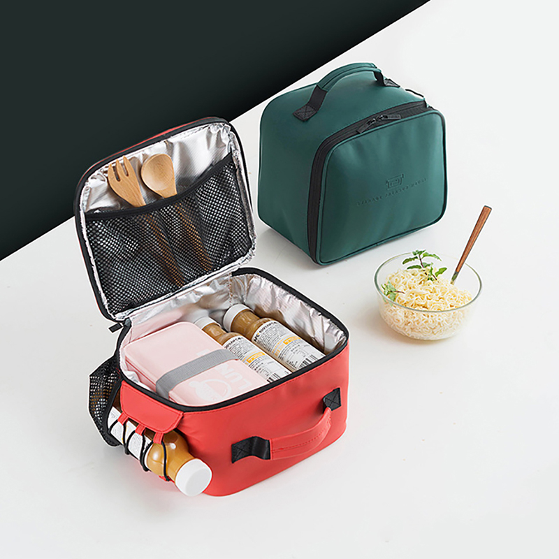 Portable Insulated Warm Cooler Lunch Bag Isotherme Thermal Food Picnic Bag for Women Kids Men Thermo Bag Lunch Box