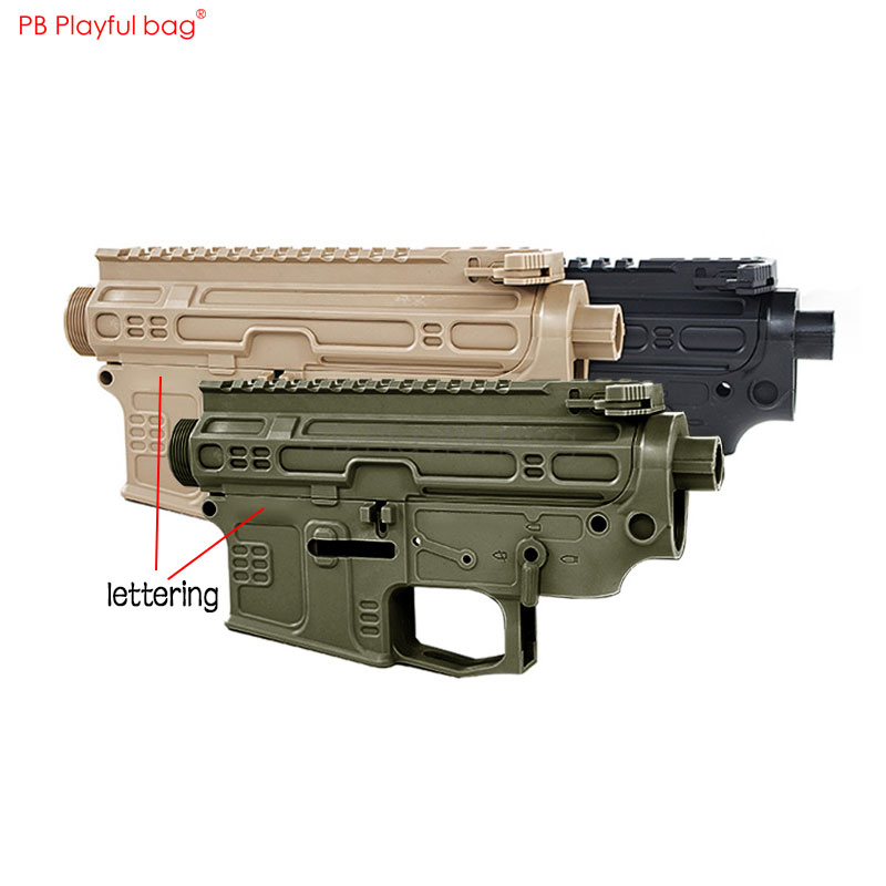 Playful bag Outdoor CS Jingji SLR Nylon receiver Gel ball gun receiver Motor grip Refitting accessories CS toy equipment QF77