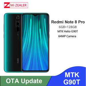 Xiaomi Redmi Note 8 Pro 6GB 128GB Original CDMA/GSM/LTE/WCDMA Quick Charge 3.0 Octa Core