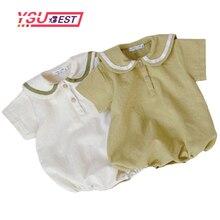 0-3Yrs Summer Baby Clothes Salior Collar Baby