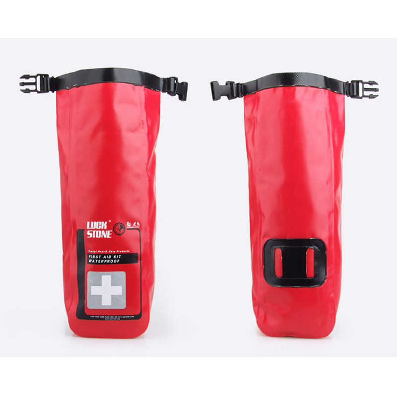 Emergency Kit Bag Waterproof First Aid Kits Outdoor Mini Medical Storage Bag For Camping Travel Health Care Product PVC Material