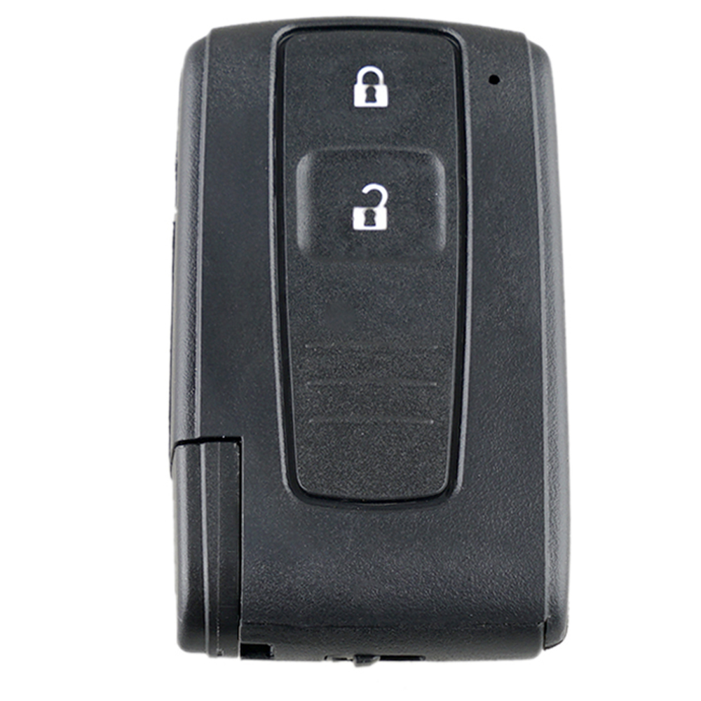 2 Button Remote Car Key Shell Case for Toyota <font><b>Prius</b></font> 2004 <font><b>2005</b></font> 2006 2007 2008 2009 Corolla Verso Camry with/without Uncut Blade image