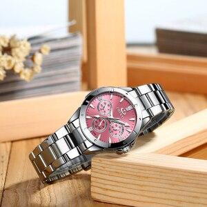 Image 3 - CHENXI montre en acier inoxydable pour femmes, montre de luxe, classique, tendance daffaires, étanche, mouvement à Quartz, horloge, collection 2020