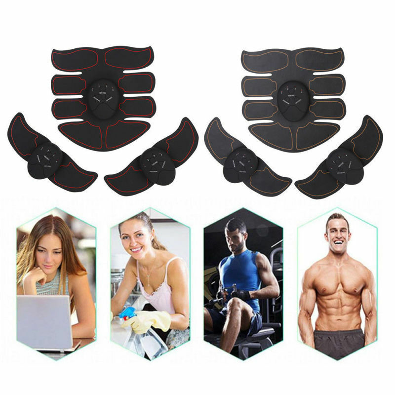 Unisex Wireless EMS Abdominal Muscle Toning Belt Stimulator 11