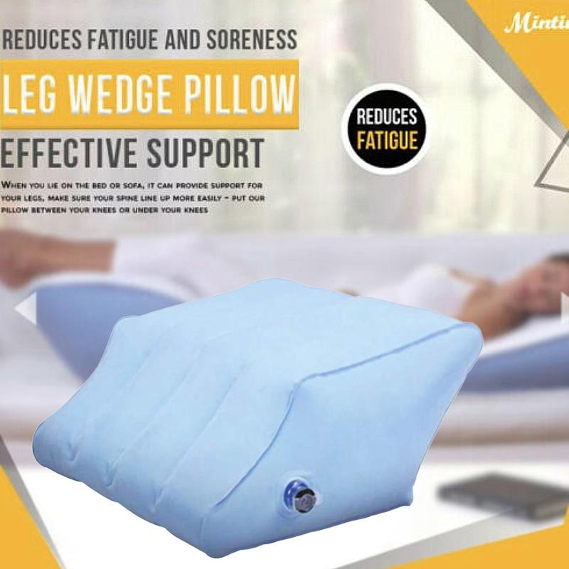 Wedge Leg Foot Rest Raiser Support Pillow Portable R1J5 Cushion Inflatable N5R6.