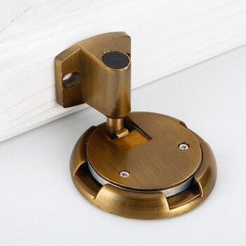 Strong Windproof Door Suction Invisible Door Stopper Anti Collision Buffer Door Stop Silent FP8