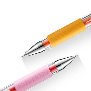 Image 2 - Lote de 12 unidades de bolígrafos de tinta de Gel Mitsubishi Uni Um 151, bolígrafos de 0,38mm, 20 colores, suministros de escritura al por mayor