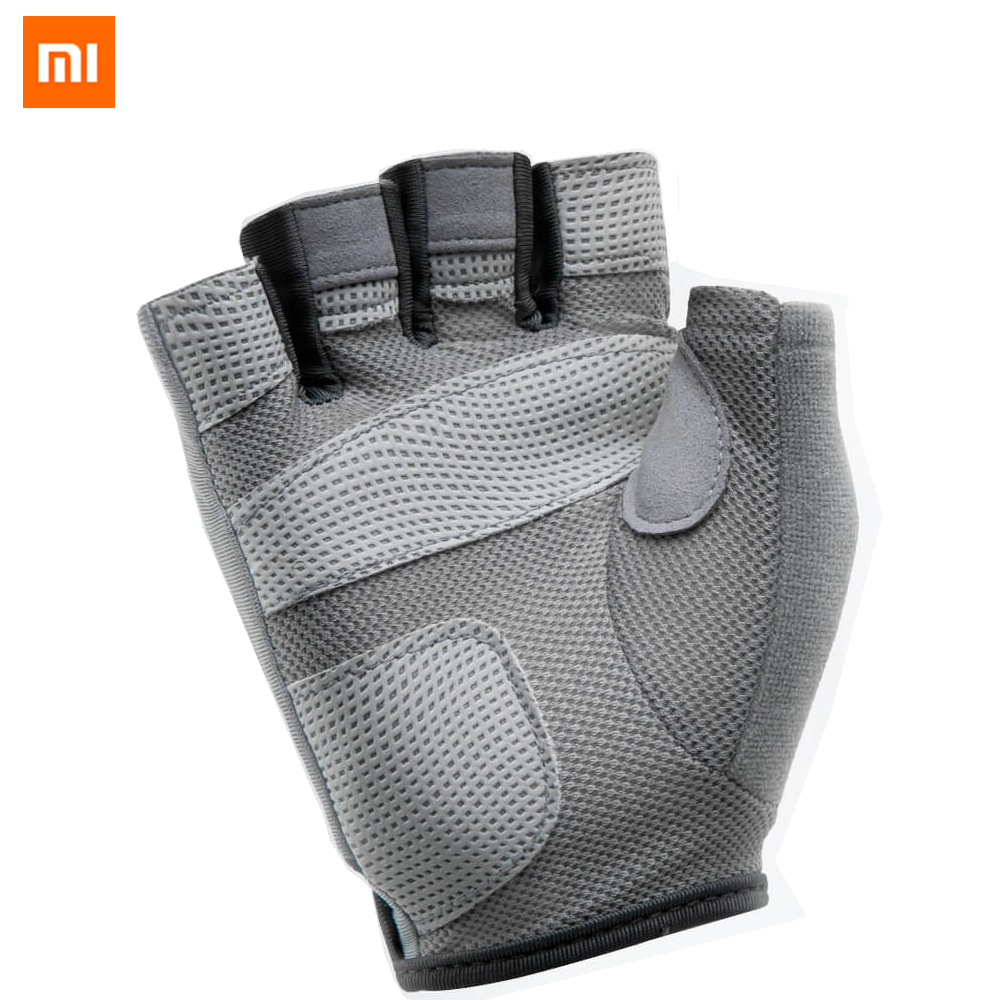 Xiaomi XQIAO Fitness Lightweight Gloves Gym Breathable Dry Non-slip Sports Exercise Weightlifting Training Gloves For Smart Home
