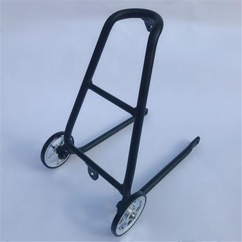 Litepro, bicicleta plegable, aleación de aluminio tipo Q, estante trasero para bicicleta Brompton, rueda fácil, ligero