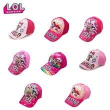 Casquette de Baseball Lol Surprise pour enfants, chapeau d'été à visière de soleil, jouet de dessin animé pour filles, cadeau d'anniversaire