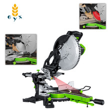 Belt Cutting-Machine Mitre-Saw Wood Compound Aluminum New New10-Inch A45-Degree