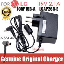 new Original FOR LG 19V 2.1A LCAP16B-A LCAP26B-E ADS-45FSN-19 19040GPCU AC adapter Power supply Charger cord US EU
