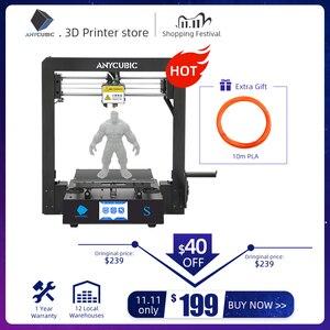 Image 1 - ANYCUBIC Mega S 3d Printer i3 Mega Upgraded Plus Size TFT Touch Screen Desktop FDM 3d Printer Kit impresora 3d stampante 3d