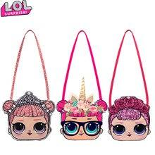 Куклы LOL Surprise, фигурки, Аватар, моделирующая мини сумка через плечо, Мультяшные детские маленькие тонкие сумки через плечо, подарки на день р...