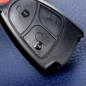 Image 5 - 4 ボタンの交換キーレスエントリーリモート車のキーシェル警報ため MERCEDES BENZ ECR CL GL SL CLK SLK