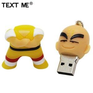 Image 3 - Văn Bản Tôi Bút 4GB 8GB 32GB 64GB Hoạt Hình Rồng Bóng Goku Kuririn Pendrive 16Gb đèn LED Cổng Usb